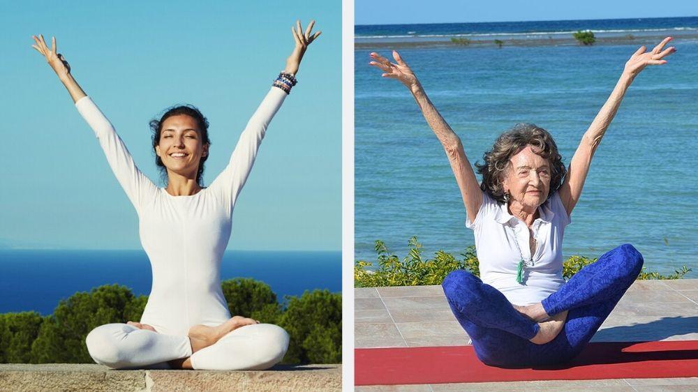 Йога - это молодость и гибкость